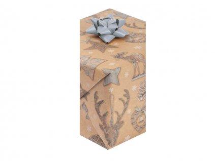 """Vianočný baliaci papier """"EKO"""" Sobík"""
