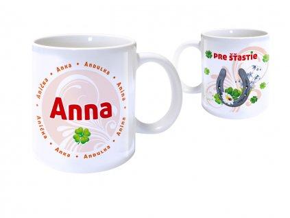 Hrnček s menom - ANNA