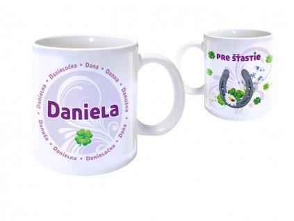 Hrnček s menom - DANIELA