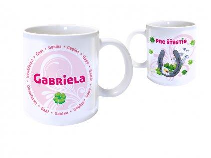 Hrnček s menom - GABRIELA