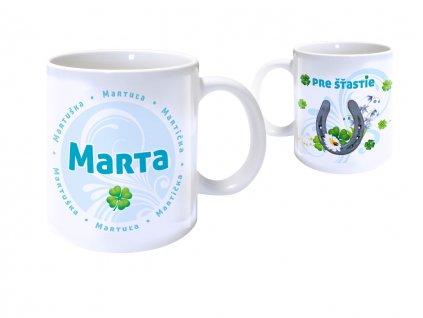 Hrnček s menom - MARTA
