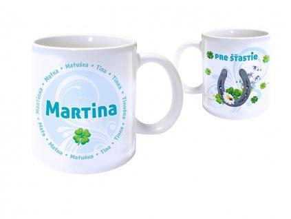 Hrnček s menom - MARTINA