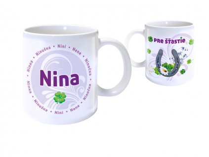 Hrnček s menom - NINA