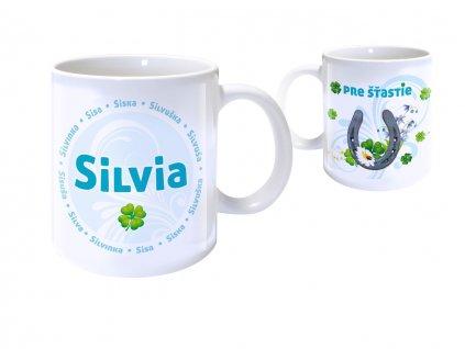 Hrnček s menom - SILVIA