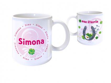 Hrnček s menom - SIMONA