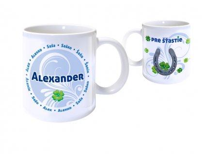 Hrnček s menom - ALEXANDER