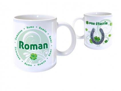 Hrnček s menom - ROMAN