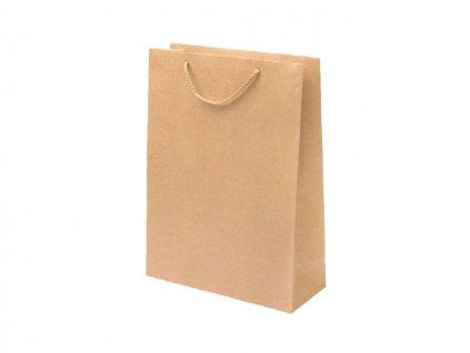 Darčeková taška EKO hnedá - veľkosť F9K