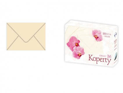 Obálky papierové béžové - typ B6