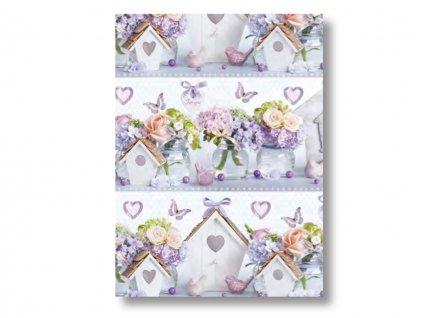 Baliaci papier Home kvety
