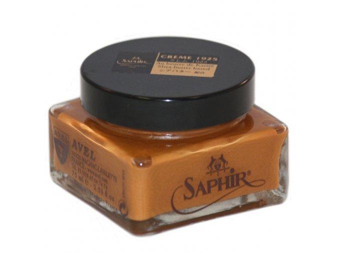krem na boty pommadier od saphir svetle hnedy light brown 75 ml