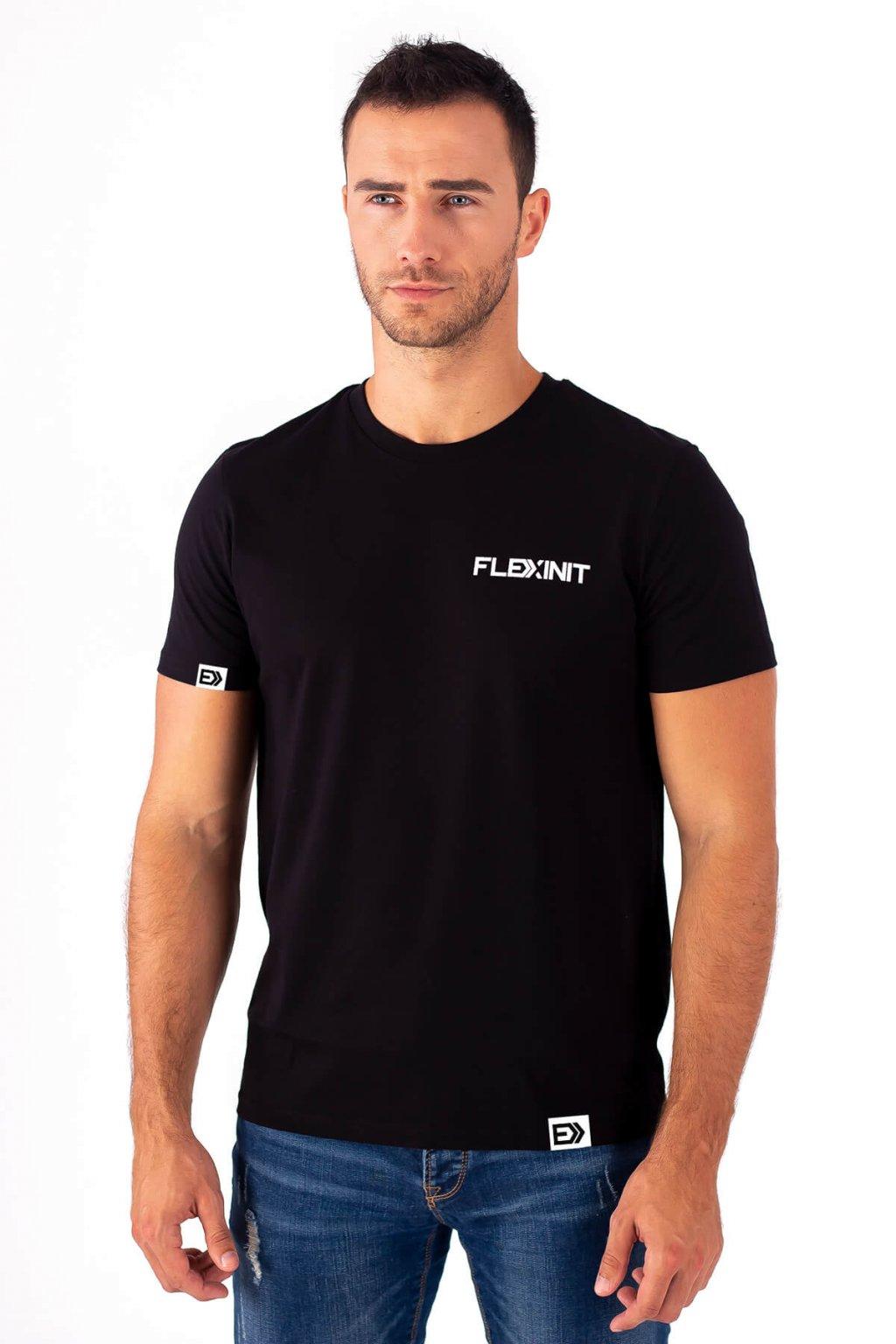 Pánské tričko REAL FLEXIN černé