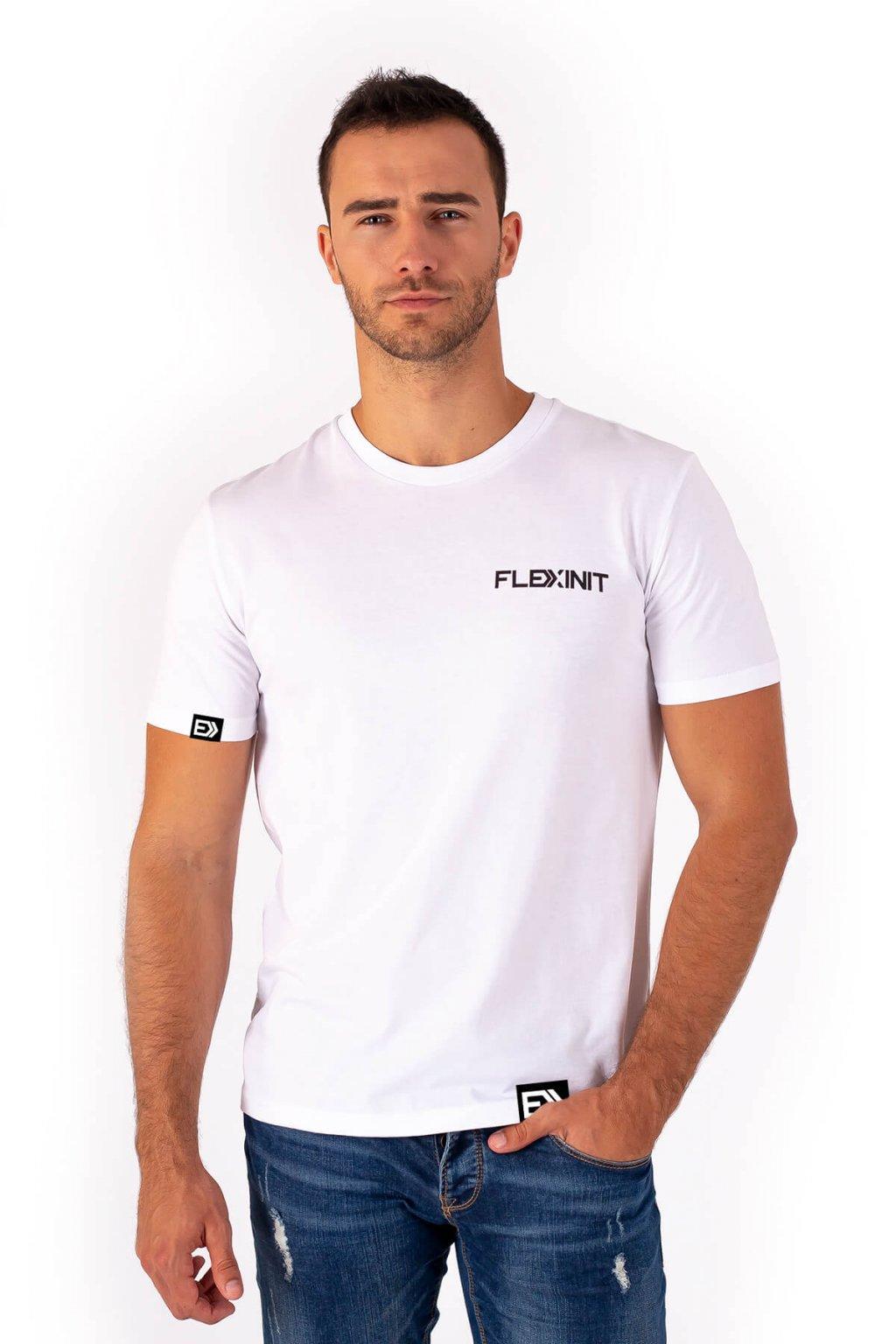 Pánské tričko REAL FLEXIN bílé