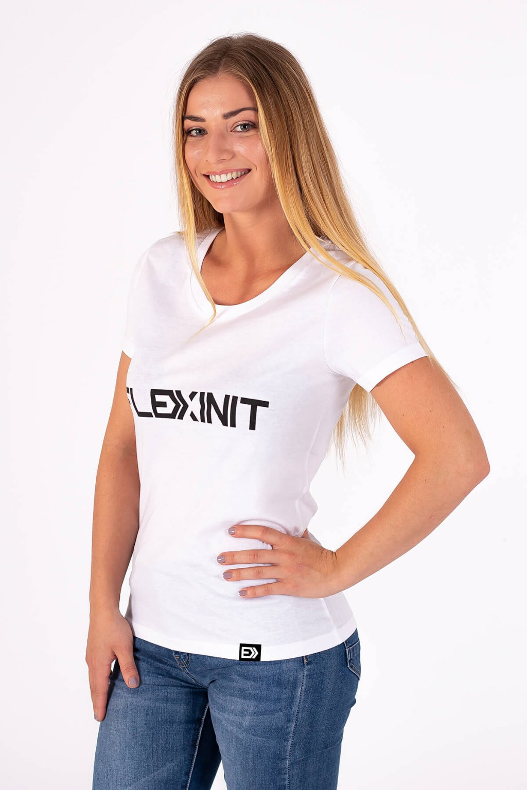 Dámské tričko FLEXINIT bílé