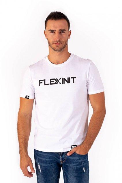 Pánské tričko FLEXINIT bílé