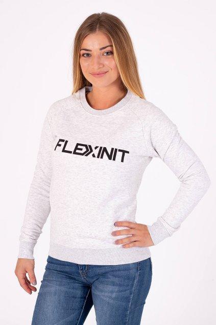 Dámská mikina FLEXINIT popelavá