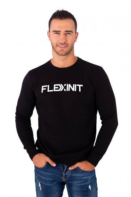Pánská mikina FLEXINIT černá