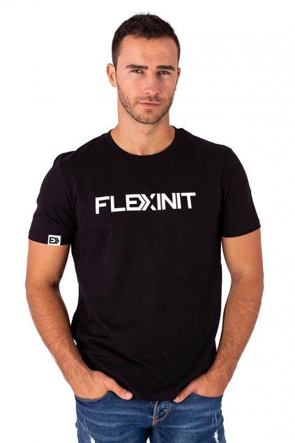 Pánské tričko FLEXINIT černé