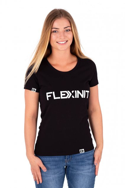 Dámské tričko FLEXINIT černé