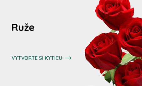 Bohatý výber ruží