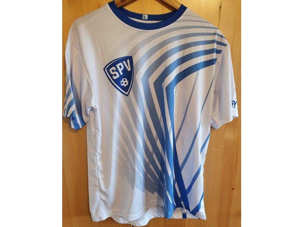 Tréninkové tričko bílé
