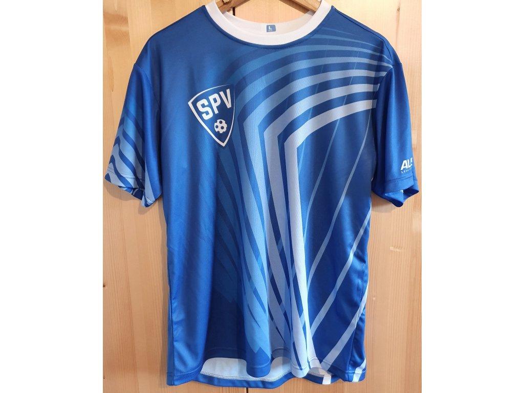 Tréninkové tričko modré