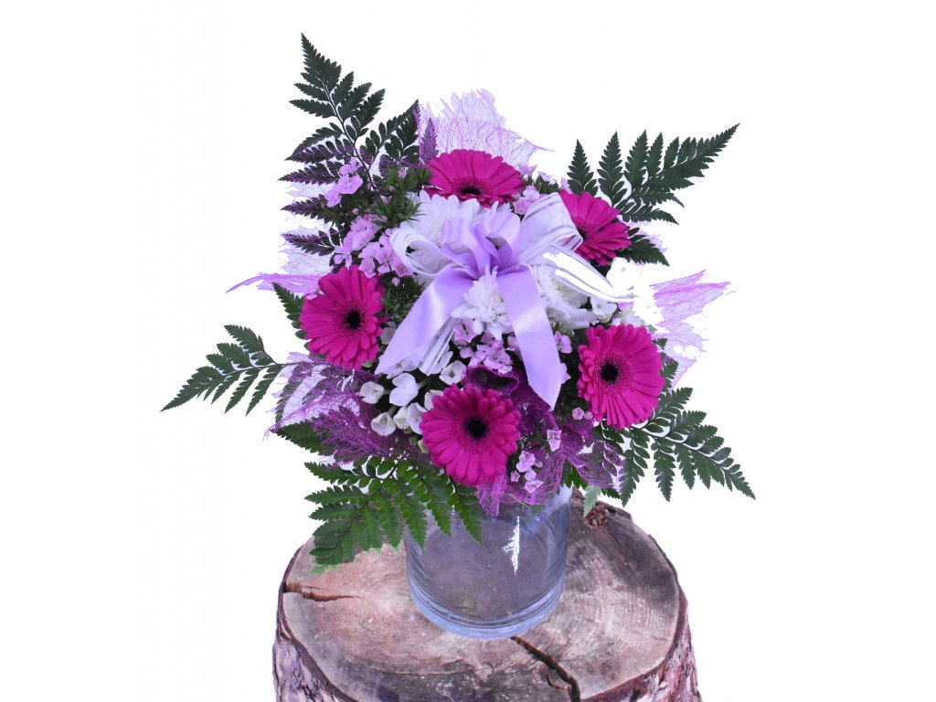 Kytice z Gerber a Chrysanthem