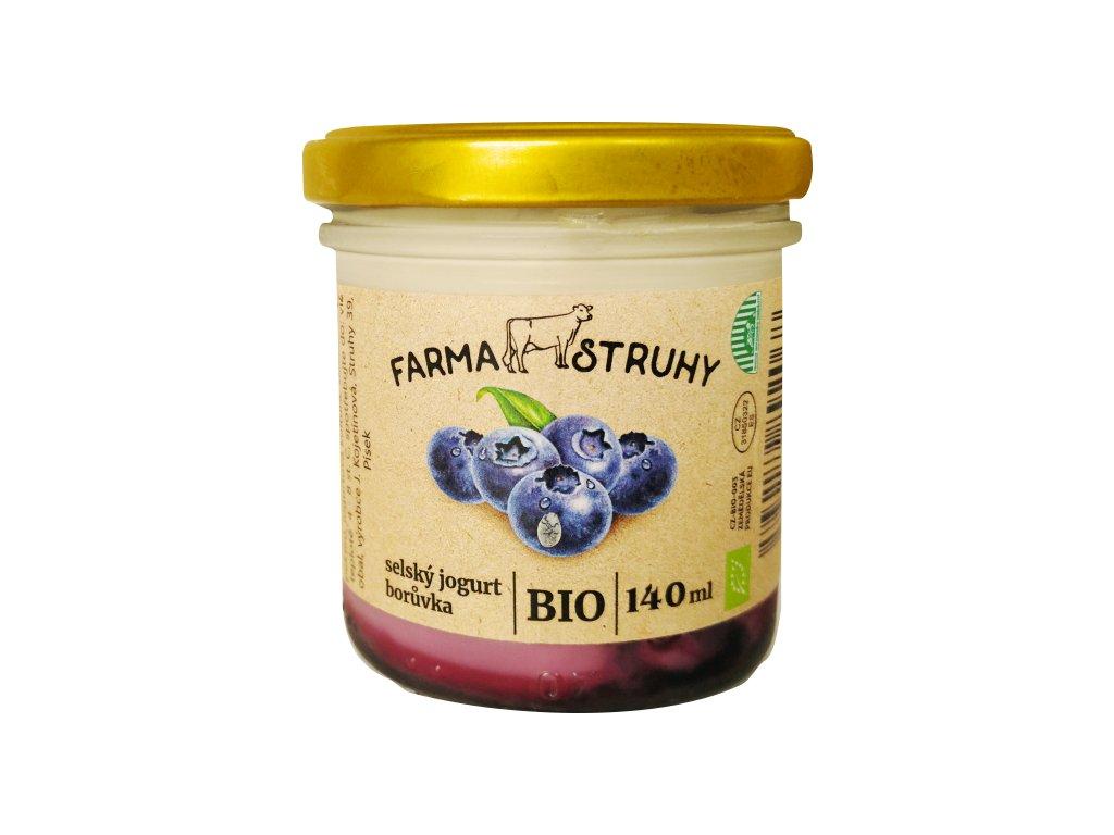jogurt borůvka140g