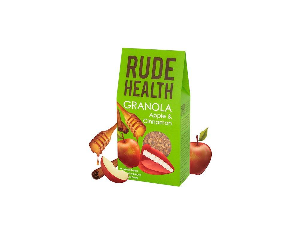 rude health apple cinnamon granola