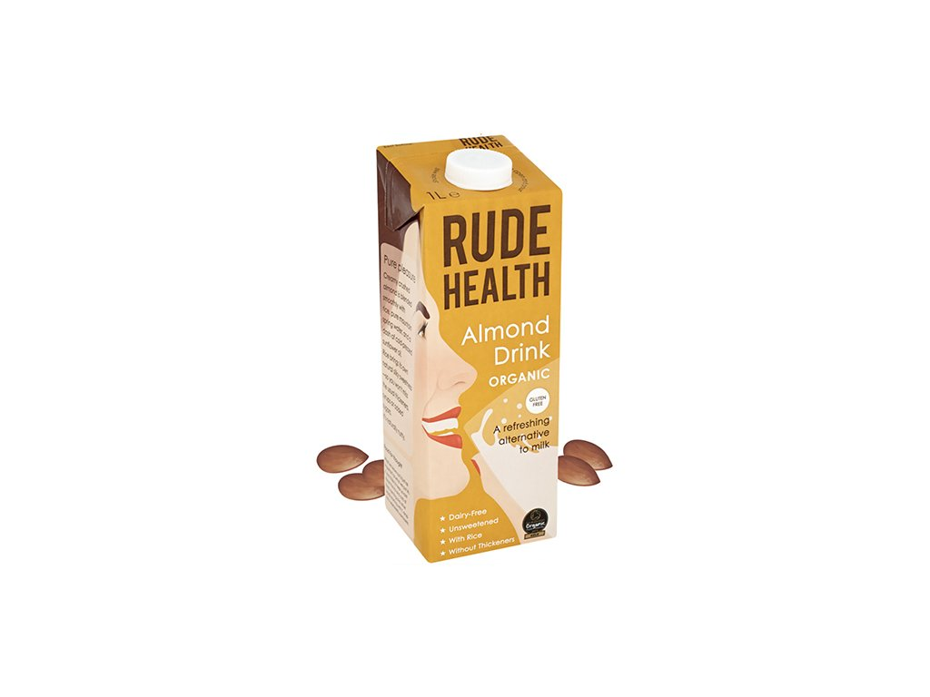 rude health almond drink milk 1l