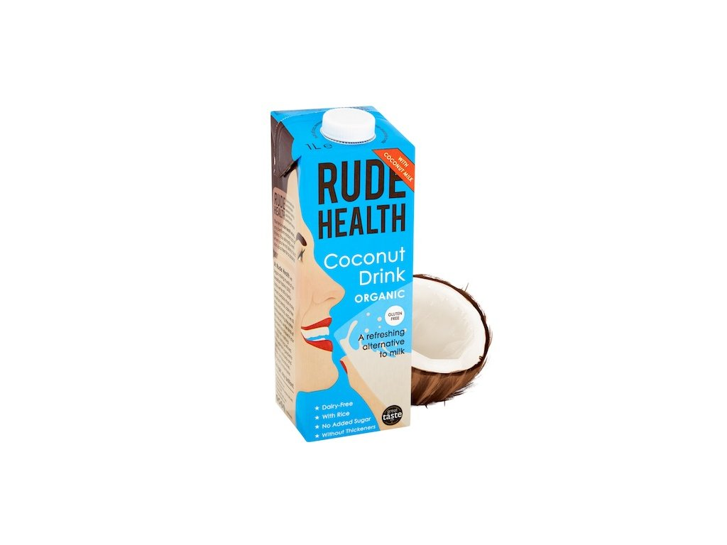 rude health coconut drink milk 1l