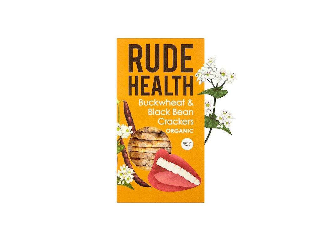 rude health buckwheat black bean crackers