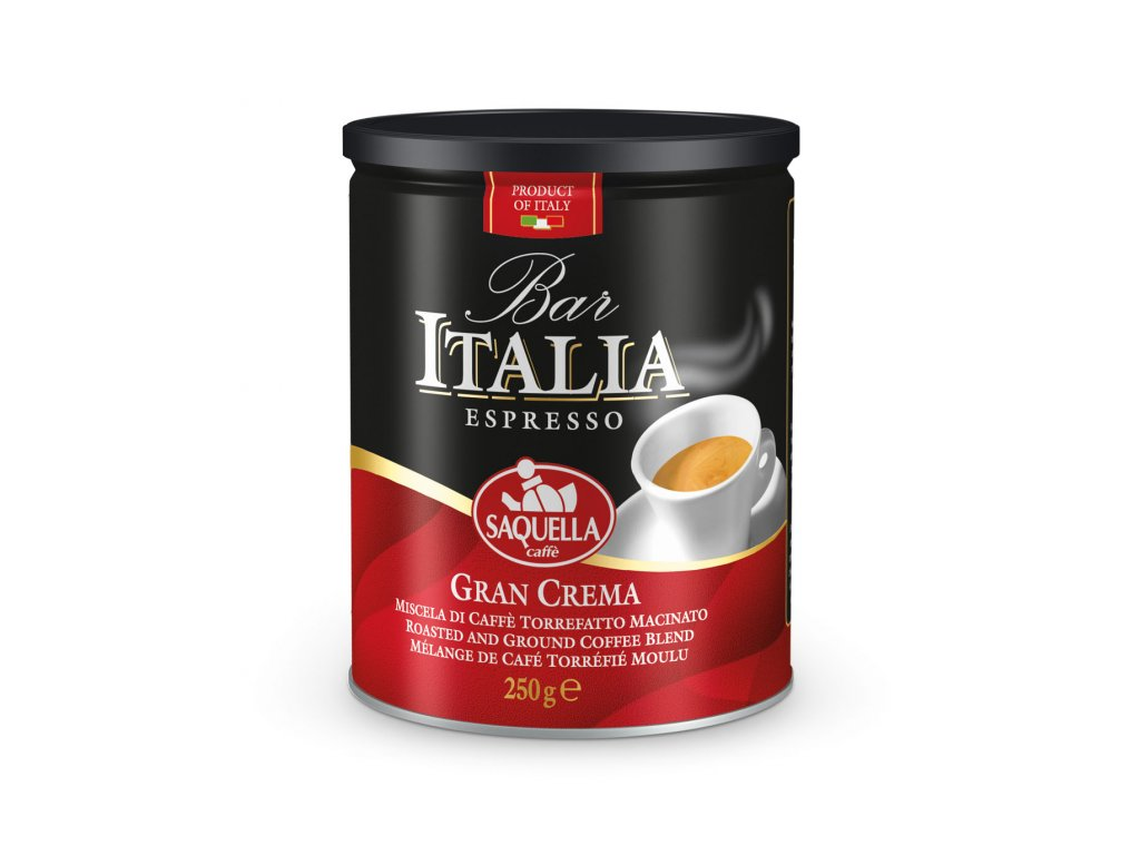 BarItalia GranCrema250g tin SCREEN