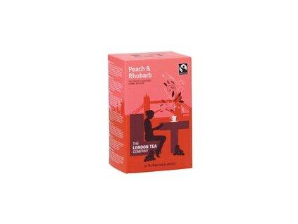 Fairtrade ovocny caj broskev a rebarbora Peach & Rhubarb 20ks