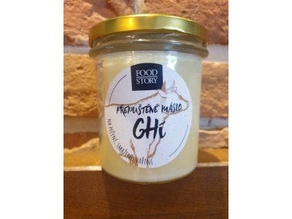 Máslo přepuštěné Ghí 310ml Food Story