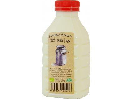 Mléko čerstvé 0,5l farma Struhy
