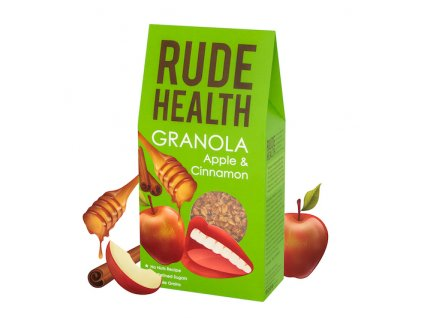rude health apple cinnamon granola