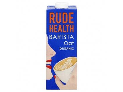 rude health organic barista oat milk