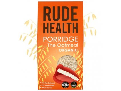 rude health organic oatmeal porridge