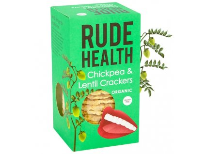 rude health chickpea lentil crackers