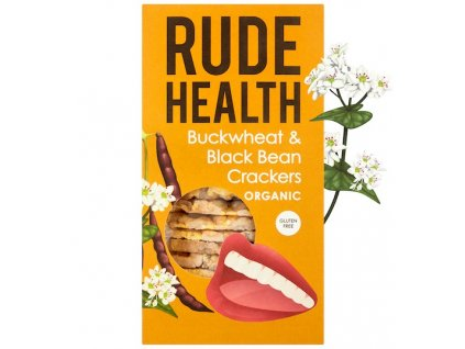rude health buckwheat black bean crackers