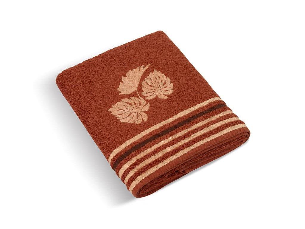 Froté ručník a osuška kolekce Monstera