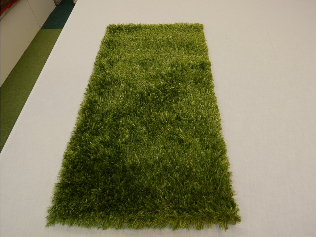 Kusový koberec Parma zelená 70 x 140