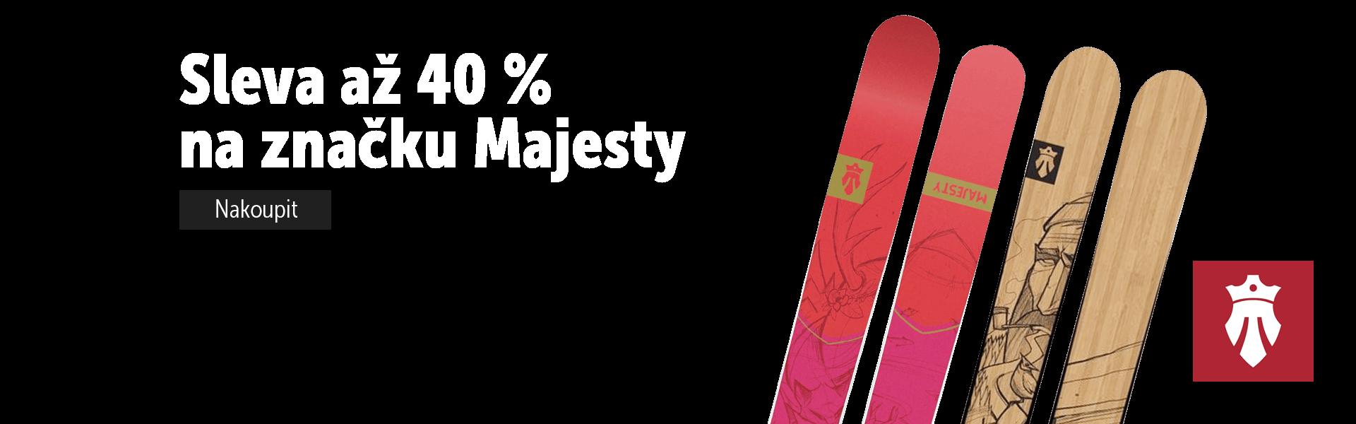 Slevy na značku Majesty