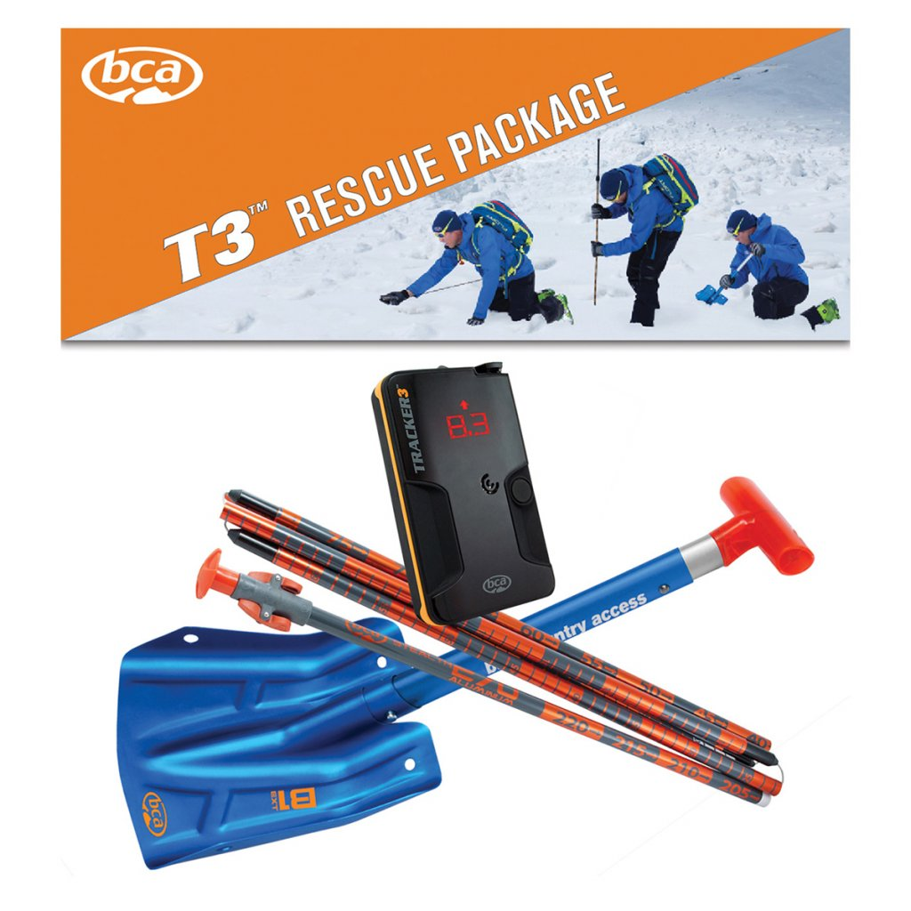 BCA T3 avalanche rescue package lavinový set