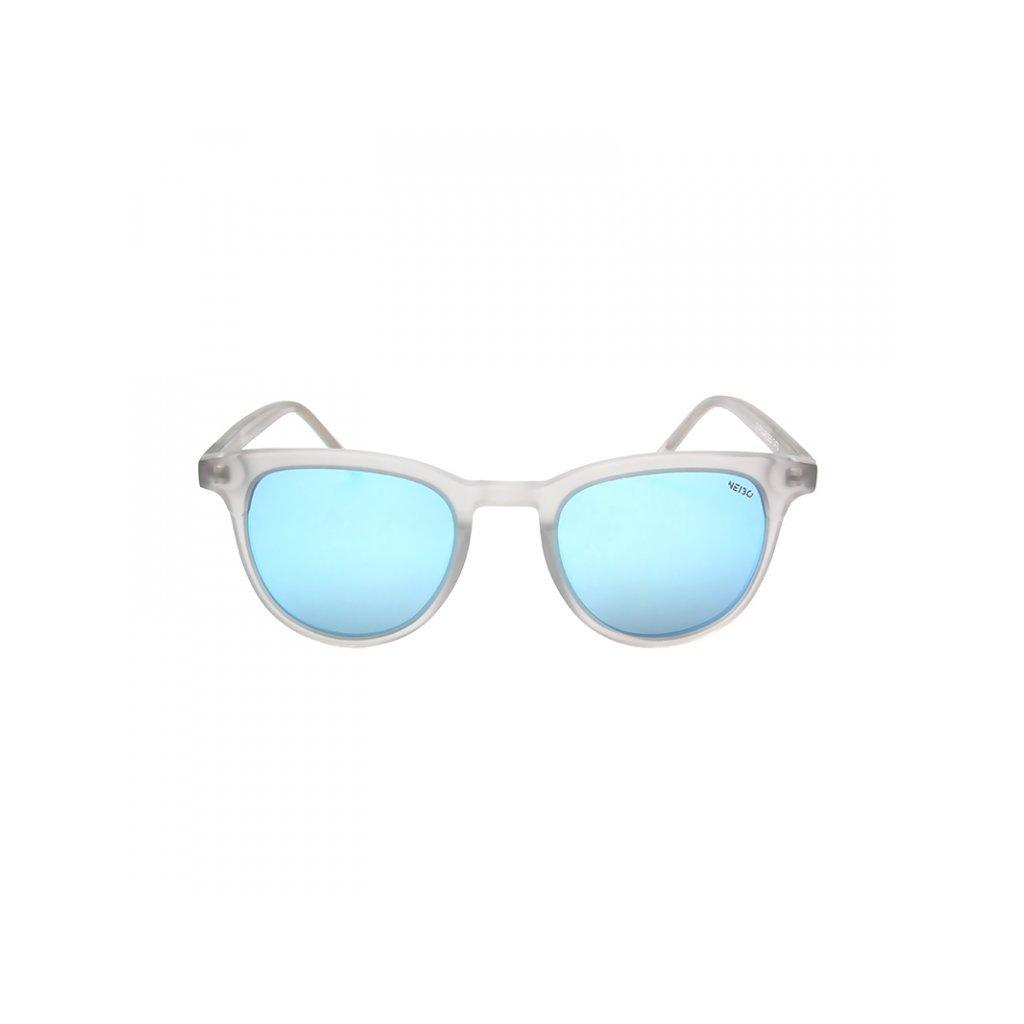 Neibo md matte transparent light grey:light blue