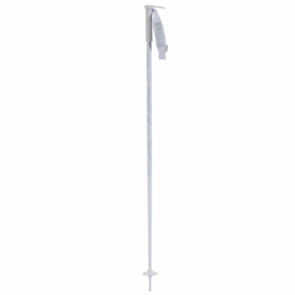 line skis pin ski poles 2020