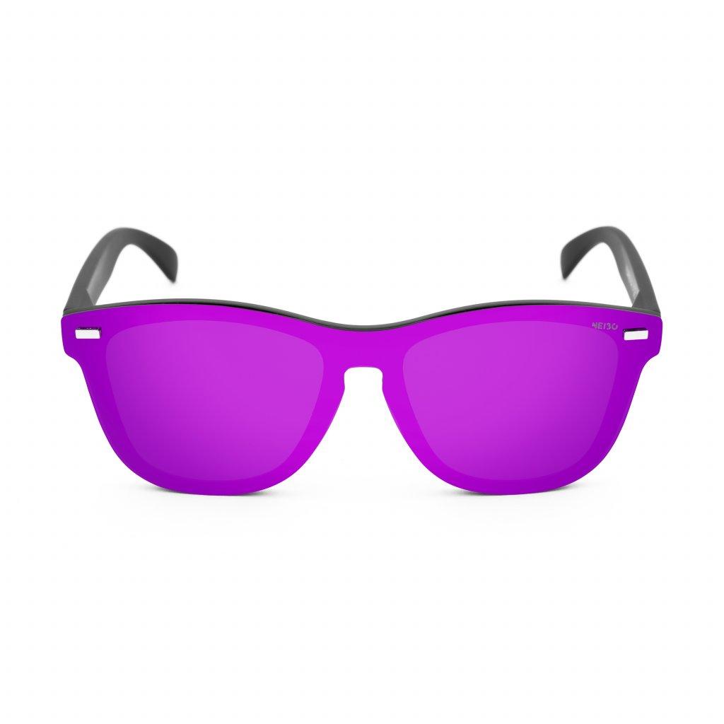 Neibo Ivory matte black:purple 1