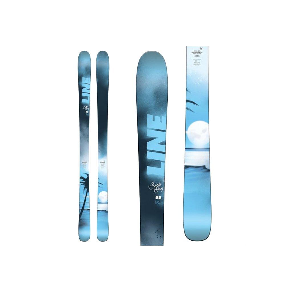 line skis sick day 88 skis 2018