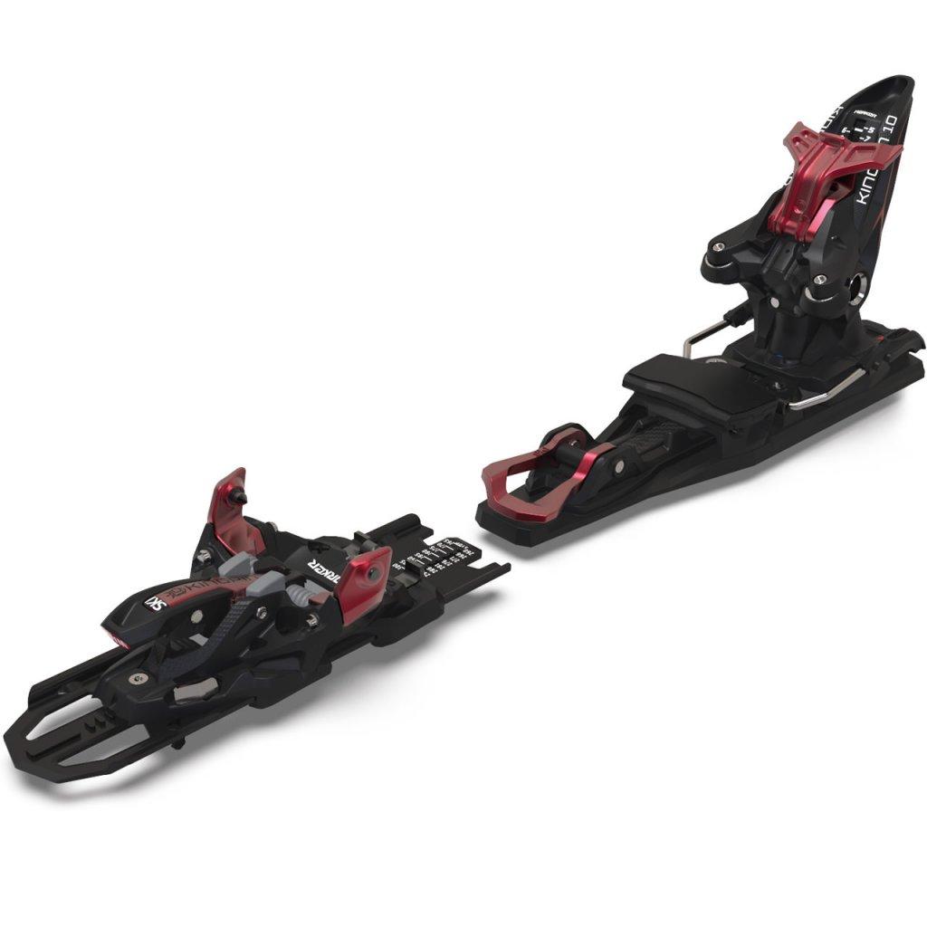 Marker Kingpin 10 DEMO - black/red - 21/22